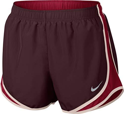 Nike Damen Laufshorts Dry Tempo Core 7,6 cm - rot - Small 35 -