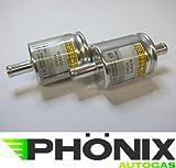 Phönix, Filtro auto, 2 filtri per gas GPL, 12 - 12 mm, per KME Stag, ecc. -