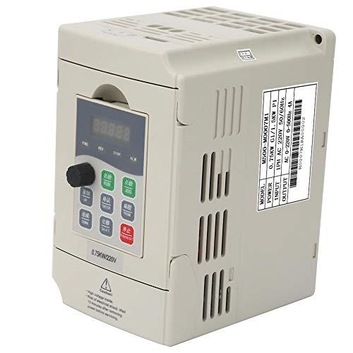 Frequenzumrichter VFD 220 V 7A Einphasen Drehzahlregler für CNC-Fräserspindel 0,4 kW / 0,75 kW / 1,5 kW(0.75KW) -