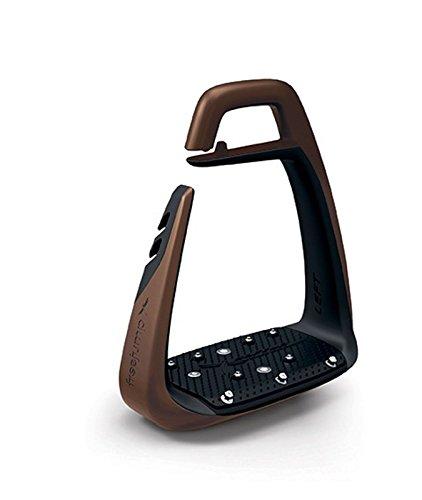 Freejump SOFT UP CLASSIC Sicherheits-Steigbügel (braun-schwarz)