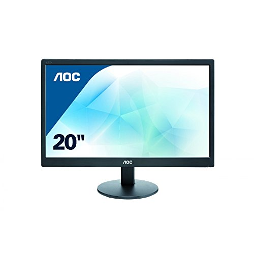 AOC 19.5 inch LED Monitor, VGA, Vesa E2070SWN UK