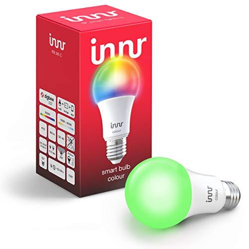 Innr E27 ampoule LED connectée couleur (compatible avec Philips Hue* & Alexa, hub connecté requis) RB 285 C (1-Pack)