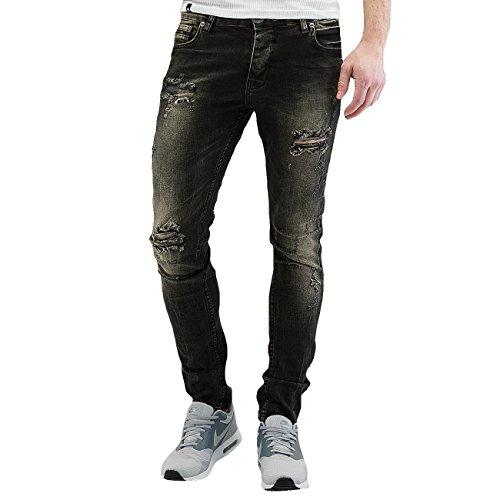 2Y Homme Jeans / Slim Cascais Noir