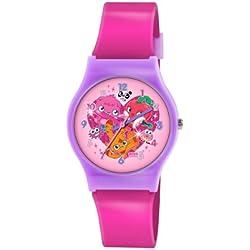 Moshi Monsters Kinder-Armbanduhr Analog Kunststoff Rosa MM019