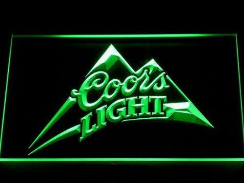 coors-light-bier-led-zeichen-werbung-neonschild-grun