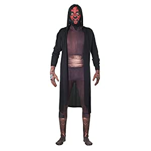 Morphsuits - Disfraz para Adulto Darth Maul, Star Wars, Talla M (MLZDMM)