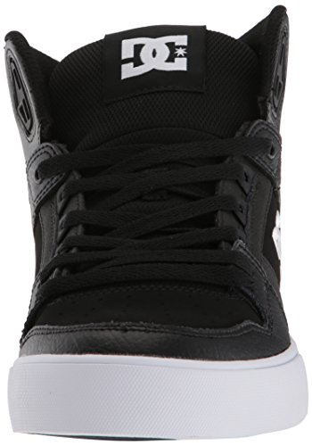DC Shoes Mens Pure High-Top WC Hi Top Shoes Black BKW Precio Al Por Mayor Para La Venta OKPI1