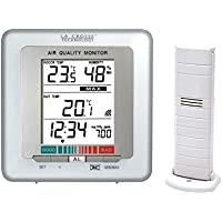 La Crosse Technology WS272-WHI Temperature Station with Air Quality Indicator - White