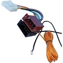 AERZETIX: Adaptador cable enchufe ISO para radio de coche, vehiculos C11931