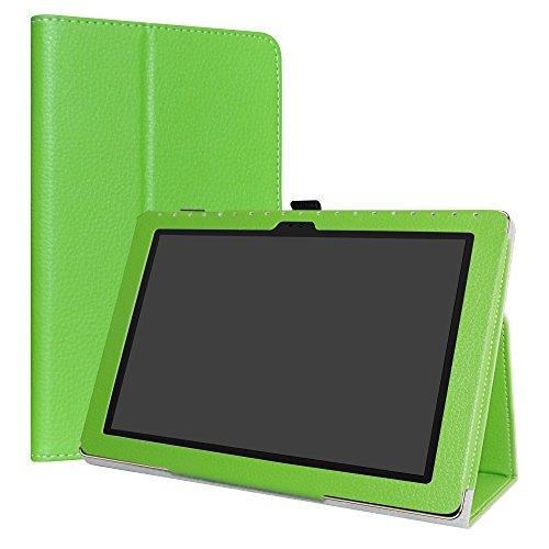 LiuShan Asus ZenPad 10 hülle, Folding PU Leder Tasche Hülle Case mit Ständer für 10.0