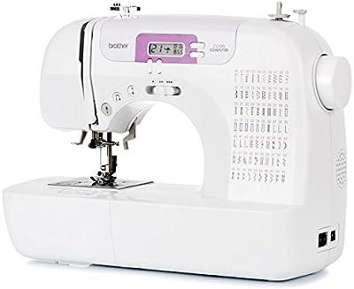 Brother CX70PE (Patchwork Edition) - Máquina de coser electrónica con 70 puntadas de costura (útiles, elásticas, decorativas), costura automática, pantalla multifunción