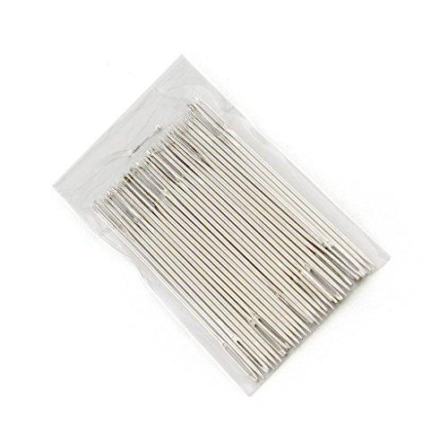 HAND ® T60 Einfache Gewinde Handnähnadeln mit großen Augen - Packung mit 30 Appx
