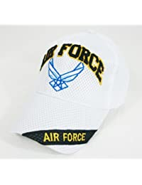 US Air Force - Casquette brode official logo USAF - Blanc - Taille unique