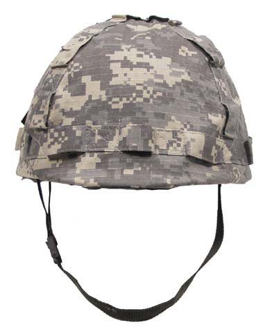 US Helm Kunststoff, mit Stoffbezug, AT-digital zu MFH