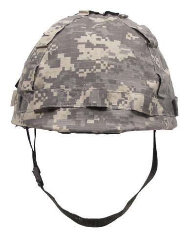 US Helm Kunststoff, mit Stoffbezug, AT-digital