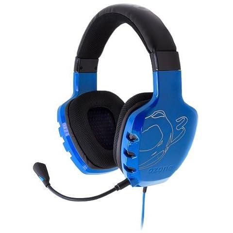 Ozone Rage ST Micro Casque filaire pour gaming Bleu