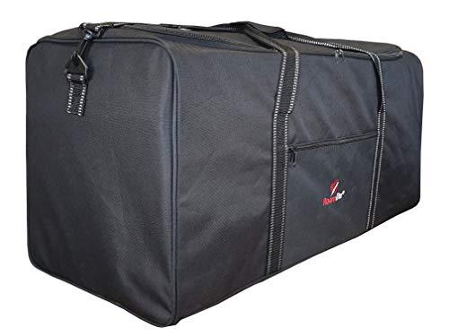 Roamlite Borsone Molto Grande - Bagaglio Spazioso per Viaggio, Weekend Palestra Unisex - Design Semplice, Colore Nero - 76cm X 34cm X 37cm - 0.8kg, 100 Litri Borse Borsa XL XXL - RL30K