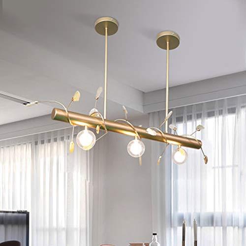Restaurant Lichter Kronleuchter Drei Moderne Einfache Rechteckige Tisch Esszimmer Lichtfarbe Achat Scheibe Nordic Lampen -