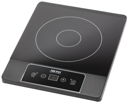 Aroma Housewares AID-506 Induction Hot Plate, Black by Aroma Housewares