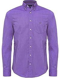Gant Hommes Chemise Oxford ajustement régulier Purple