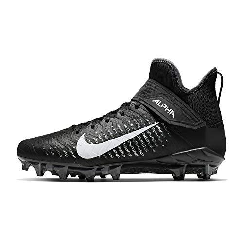 Nike Alpha Menace Pro 2 Mid American Football Rasen Schuhe - schwarz Gr. 11 US