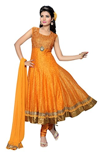 Charu-Boutique-Women-Silk-Salwar-Suit-Set-Cbf1657Xl-Orange-X-Large