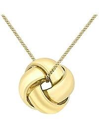 Carissima Gold Collana con Pendente da Donna, Oro Giallo 9K (375)