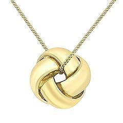 Idea Regalo - Carissima Gold Collana con Pendente da Donna, Oro Giallo 9K (375)