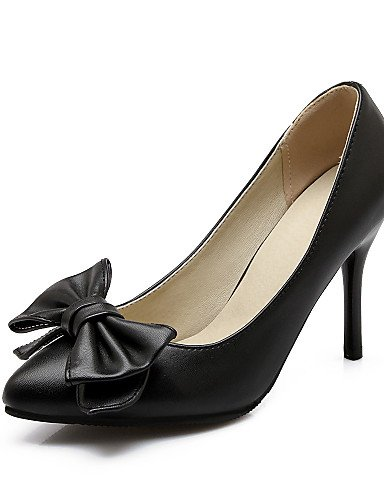 WSS 2016 Chaussures Femme-Bureau & Travail / Décontracté-Noir / Rose / Rouge / Blanc-Talon Aiguille-Talons / Bout Arrondi-Talons-Polyuréthane pink-us6 / eu36 / uk4 / cn36