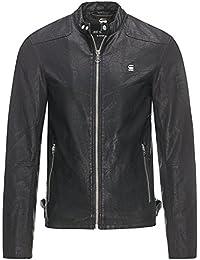 G-Star Hombre Avier GPL Logo Jacket, Negro