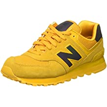 new balance amarillas