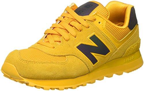 new-balance-574-scarpe-da-ginnastica-basse-donna-giallo-yellow-38-eu