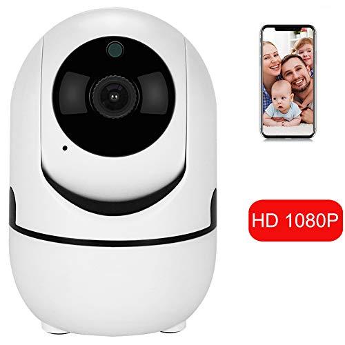 1080p HD IP-Kamera mit Motion Tracker / 2-Wege-Audio/Nachtsicht/APP-Fernbedienung, 2,4 GHz WiFi Indoor Home Security Dome-Kamera für Baby-Monitor/Holunder/Hund/Kindermädchen