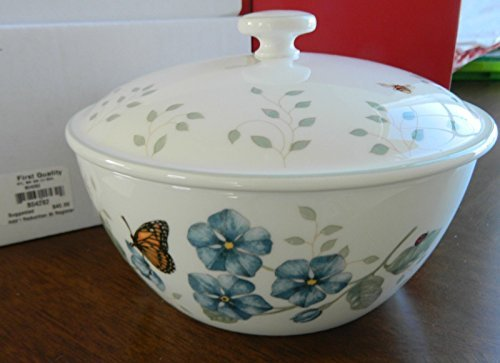Lenox China (Lenox China Butterfly Meadow Covered Bowl New with Tag by Lenox)