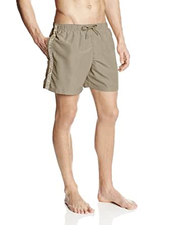 Emporio Armani Intimates - Maillot de bain de sport Homme BINDING LOGO BASIC SHORT - Or (Bronze) - Medium