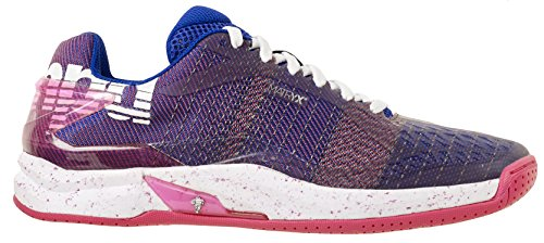 Kempa ATTACK ONE WOMEN CONTENDER, Damen Handballschuhe, Violett (Violet Electrique/Rose Fuschia Violet Electrique/Rose Fuschia), 41 EU (7.5 UK)