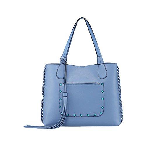 Handtaschen Handtasche Schulterbeutel Totebeutel Damebeutel Lässig Und Einfach Wilde Blue