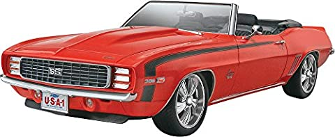 Revell Monogram 1:25 Scale 69 Camaro Convertible Plastic Model
