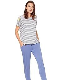Darjeeling - Pyjama Coquelicot - Femme - Bleu