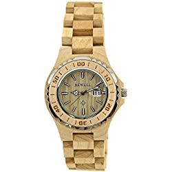 Bewel Wooden Watches for Woman 100% Wood Woman's Wristwatch Retro Watch