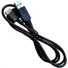 OSTENT 2 in 1 USB Datos Transferencia Cargador Cable Compatible para Sony PS Vita PSV Consola