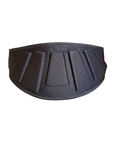 BEAR-GRIP-BLACK-Weight-Lifting-Neoprene-Curved-Gym-Belt-Back-Lumbar-Support-Fitness-Exercise-Bodybuilding-X-Small