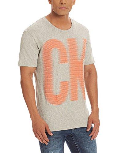 Calvin Klein Men's T-Shirt (701549183802_J301833_X-Large_Grey)
