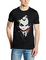 DC Comics Men's Joker Big Face Short Sleeve T-Shirt