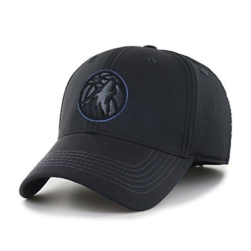 NBA Wilder OTS Center Stretch Fit Hat, Unisex - Erwachsene, NBA Wilder OTS Center Stretch Fit Hat, schwarz, Medium/Large -