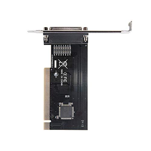 NANOCABLE 10.28.0001 - Tarjeta PCI con Puerto Paralelo DB25 Hembra
