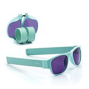 Sunfold Pastel Lunettes de soleil roulant, homme Taille unique Violet/vert