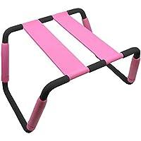 QNMM Silla Multifuncional para Adultos, Juguetes sexuales de Amor, Peso sin Peso, Silla Ajustable de posicionamiento Auxiliar con Marco de Metal para Pareja,Pink