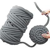 Wolle Garn Mehrfarbig Soft Bulky Arm Stricken Wolle Roving Häkeln DIY Hand Chunky Strickdecke Decke Garn für Riese Klobig Sticken Werfen Sofa Decke