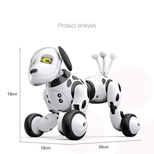 Sunsetglow DIMEI 9007A 2,4g Drahtlose Fernbedienung Intelligente Roboter Hund Kinder Smart Spielzeug Reden Hund Roboter Elektronische Pet Spielzeug Geburtstagsgeschenk(Nur englische Version)